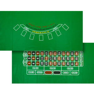 Blackjack / Roulette Felt Layout