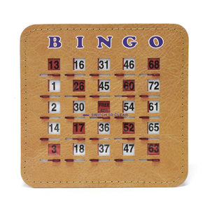 Senior Friendly Tabbed Quick Clear Stitched 5 Ply Bingo Shutter Slide Cards - Casino Supply