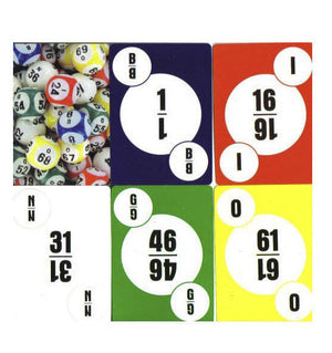 Deck of Bingo Calling Cards 1 - Casino Supply