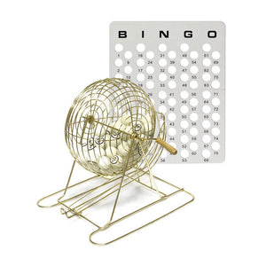 Professional Bingo Set (Ping Pong Style Balls) - Casino Supply - 1