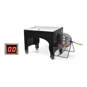 Automatic Electronic Bingo Speedy Cage with a Wireless 4 inch LED display - Casino Supply - 1