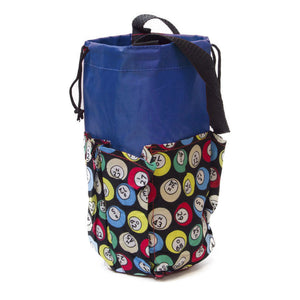 6 Pocket Mini Bingo Ball Designer Bag - Casino Supply - 2