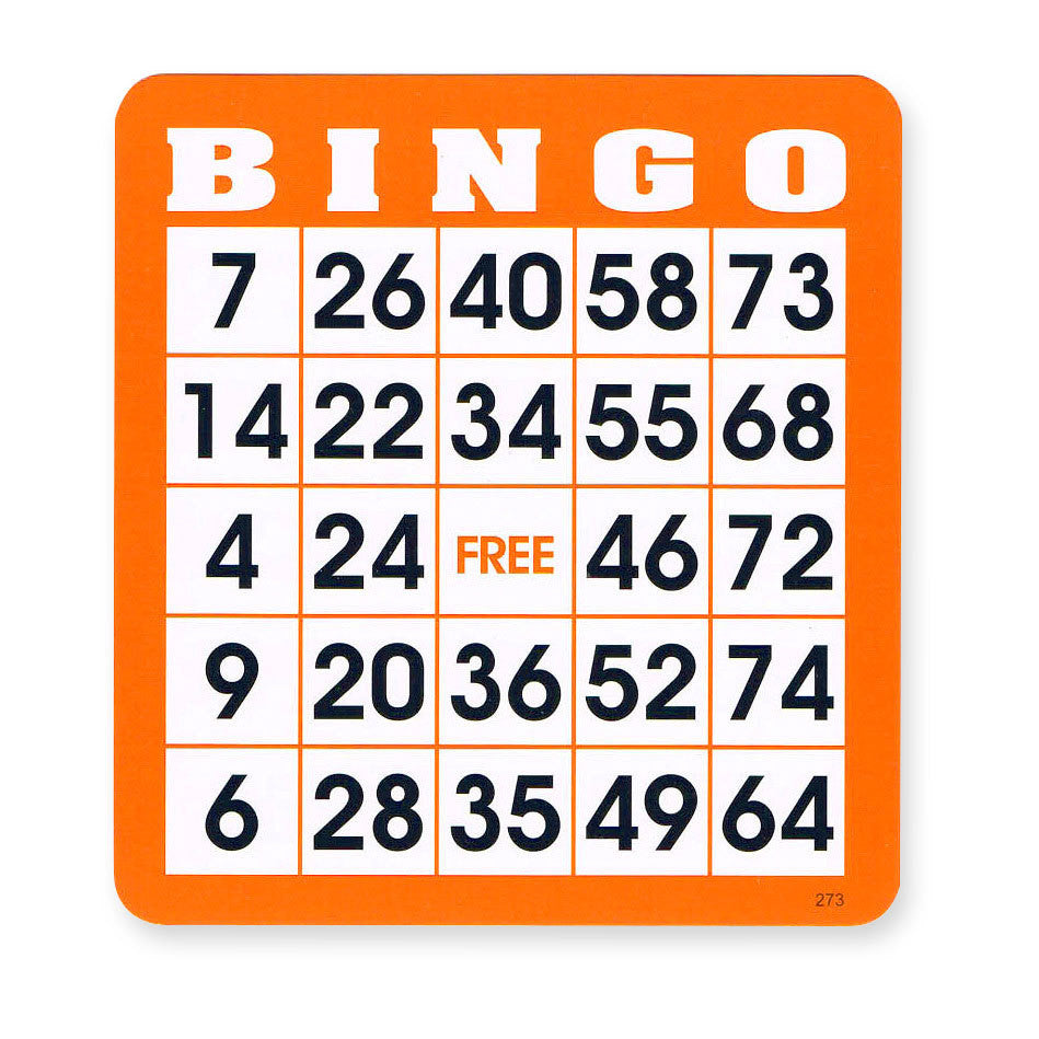 Reusable Bingo Cards Pkg 300
