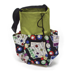 6 Pocket Mini Bingo Card Designer Bag - Casino Supply - 1