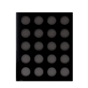 Black Velvet Poker Chip Display Boards (Various Sizes) - Casino Supply - 2