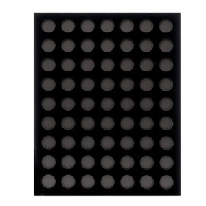 Black Velvet Poker Chip Display Boards (Various Sizes) - Casino Supply - 1