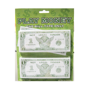 Paper Play Money Bulk (250/Pkg) Click for Denominations - Casino Supply