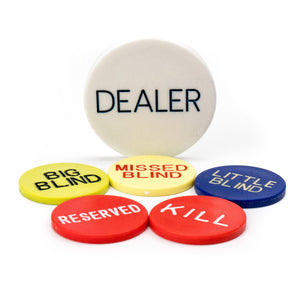 Dealer Button Kit - Casino Supply