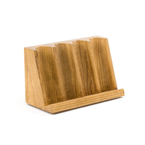 Wood 4 Row Craps Chip Tray - Casino Supply