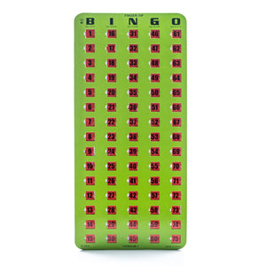 Masterboard Green Bingo Slide Card