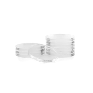 Clear Acrylic Poker Chip Spacers (Pack of 10)