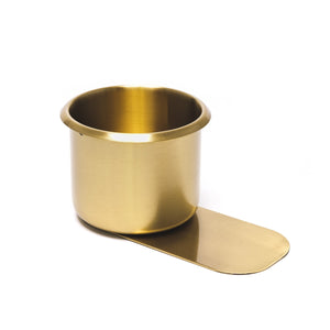 Brass Slide Under Drink Holder