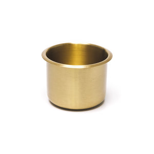 Brass Drop In Drink Holder