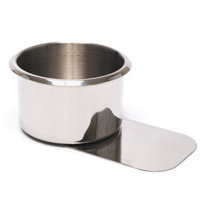 Stainless Steel Jumbo Slide Under Drink Holder