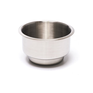 Stainless Steel Dual Size Drop In Drink Holder