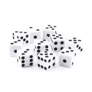 Economy Dice - 5/8 inch - 10 Pack - Choose Colors