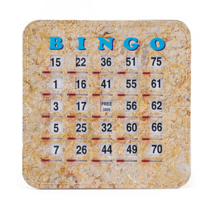 Senior Friendly Tab Stitched Bingo Shutter Slide Cards