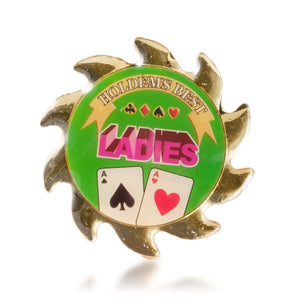 Ladies Poker Card Guard Spinner