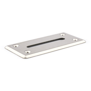 Money Drop Slot Frame - Stainless Steel