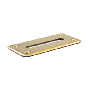 Money Drop Slot Frame - Brass