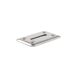 Money Chip Drop Slot Frame - Stainless Steel