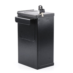 Metal Toke Box - Professional Casino Grade with J Hook and Lock