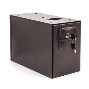 Slimline Universal Metal Casino Drop Box with Sleeve & Locks
