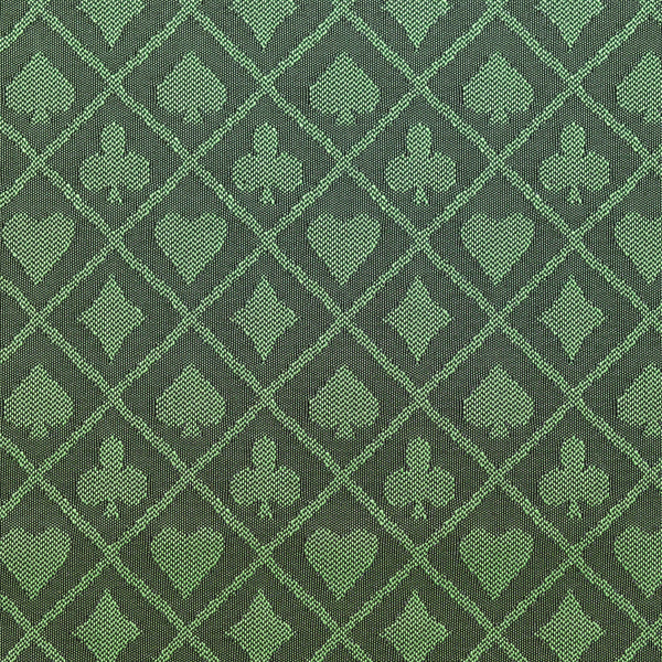 Poker table cloth 7 feet poker speed cloth suited green