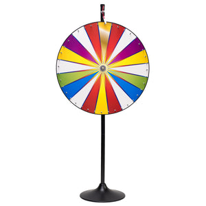 Color Prize Wheel With Stand & Base
