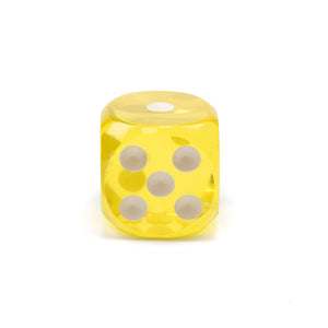 Acrylic Transparent Dice - 50 mm / 2 inch -  Sold Individually - Casino Supply - 2