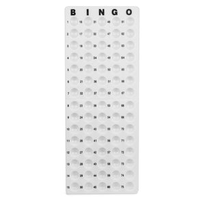 Bingo Plastic Masterboard for Small 7/8 inch Balls - Casino Supply - 1