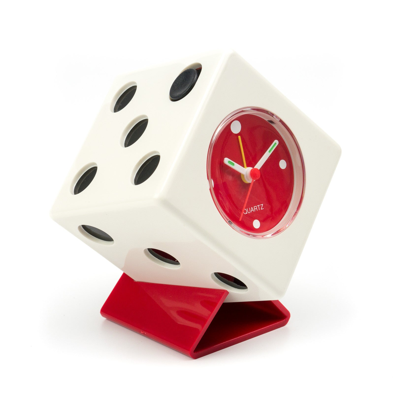 dice quartz alarm clock casino supply 1 - Casino Decorations