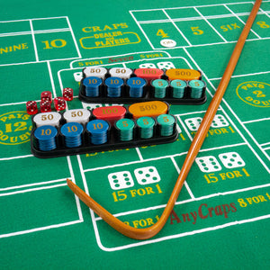 Complete Craps Set - Includes Everything You Need to Play Craps!