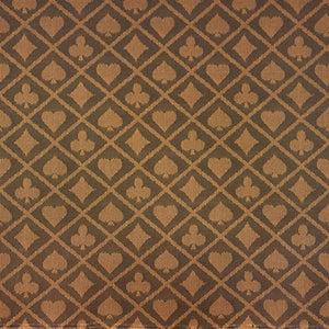 Two-Tone Suited Speed Cloth - (Sold Per Running Foot) Brown - Casino Supply