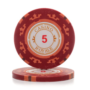 Casino Royale 14g Poker Chips (25/Pkg)