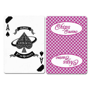 Chips New Uncancelled Casino Playing Cards - Casino Supply