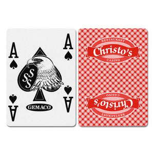 Christo's New Uncancelled Casino Playing Cards - Casino Supply
