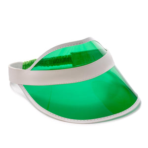 Deluxe Casino Dealer Visor With Elastic Headband - Casino Supply
