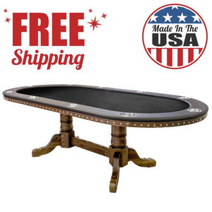 The 'Dallas' Poker Table - Casino Supply - 1