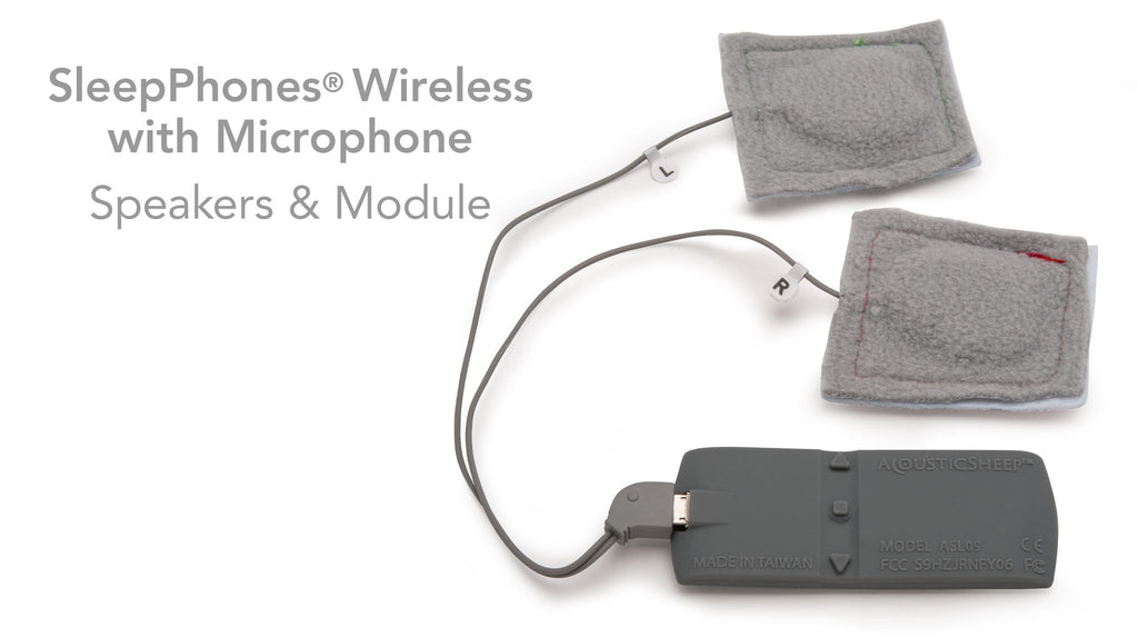 SleepPhones® Wireless with Microphone