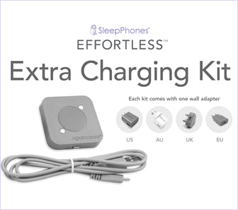 SleepPhones® Effortless™ Extra Charging Kit