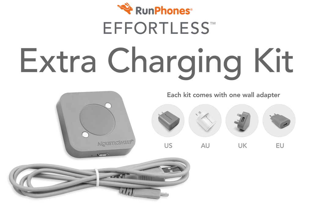RunPhones® Effortless™ Extra Charging Kit