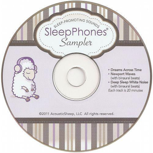 SleepPhones Retail Pack with Sleep Sampler CD