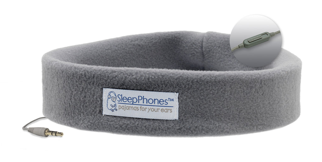 SleepPhones® Classic (Corded) with Microphone *Closeout*