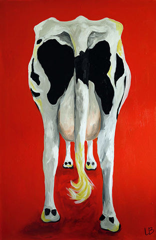 Sally - Cow Painting
