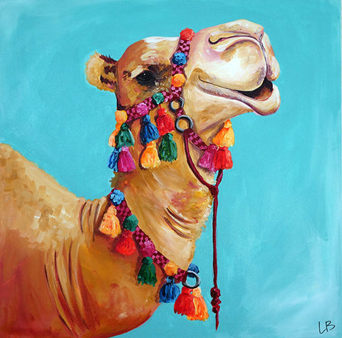 Murray - Camel Painting