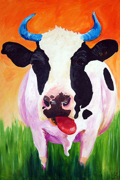 Darlene - Cow Painting