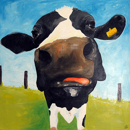Jolene - Cow Painting