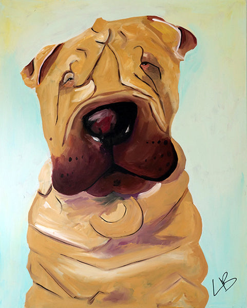 Gus - Dog Painting - SALE