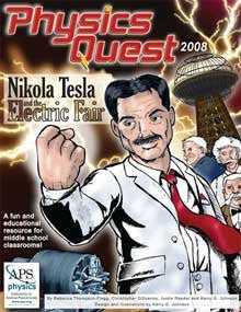 Tesla Comic Book